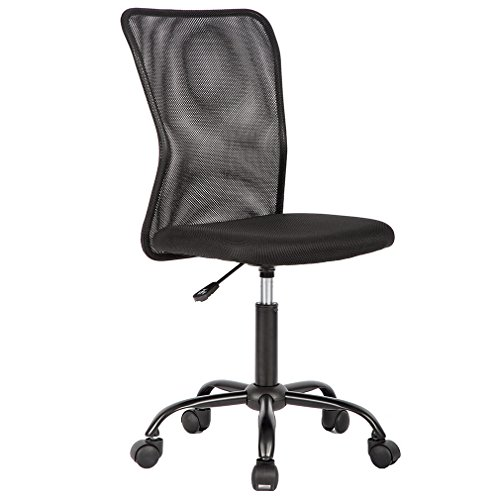 Best Massage Armless Office Chair with Breathable Mesh Back material