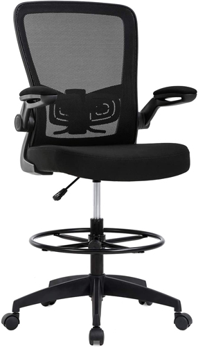 BestOffice Drafting Chair with Lumbar Back Support