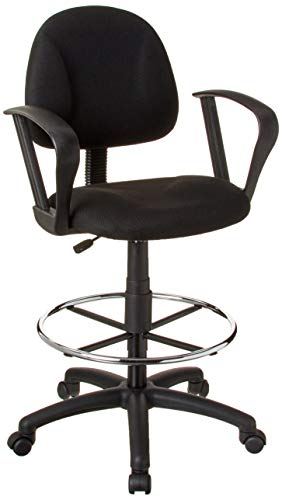 Boss Office Best Drafting Chairs with Loop in Armrests