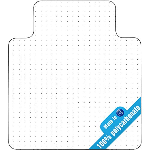 Double Check Polycarbonate Heavy Duty Chair Mat