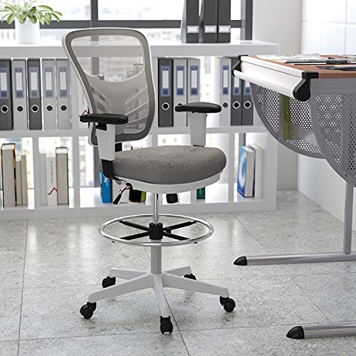 Flash Furniture Mid-Back Best Drafting Chairs