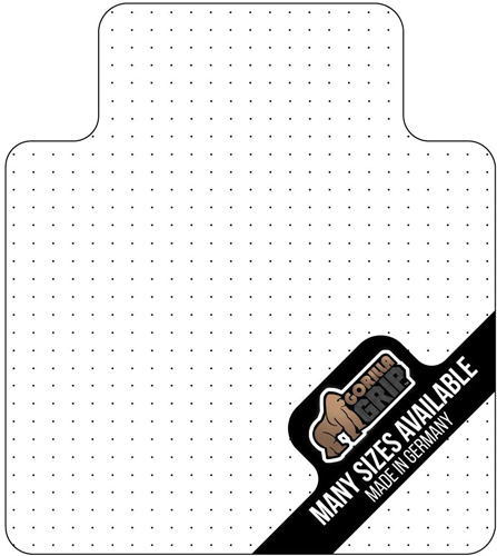 Gorilla Grip Studded Chair Mat with Premium Polycarbonate Fabrication