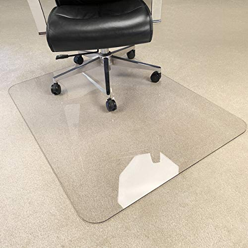 MuArts Store- Crystal Clear 1/5-Inch-Thick Chair Mat