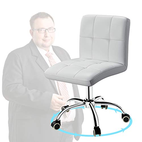 OUTMASTER Adjustable Armless Office Chair