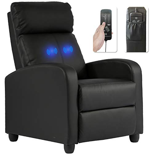 Recliner Massage Chair Wingback Single Sofa for Lounge