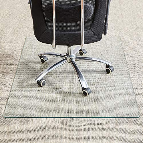 Rose Home Fashion Store- Tempered Glass Chair Mat